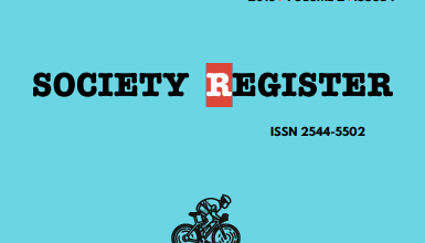 Society Register Vol 2, No 1 (2018) is now available!
