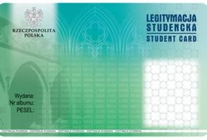 Odbiór i podbijanie legitymacji studenckich